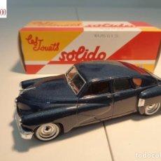 Auto in scala: TUCKER 1948. ESCALA 1:43. SOLIDO / SALVAT. Lote 225735497