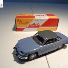 Auto in scala: PANHARD 24CT -1964-. ESCALA 1:43. SOLIDO / SALVAT. Lote 225741800
