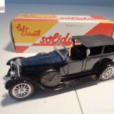 Auto in scala: PANHARD LEVASSOR -1925-. ESCALA 1:43. SOLIDO / SALVAT. Lote 225743912