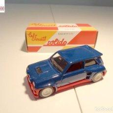 Auto in scala: RENAULT MAXI 5 TURBO. ESCALA 1:43. SOLIDO / SALVAT. Lote 225754290