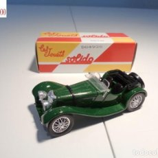 Auto in scala: JAGUAR SS100 -1938-. ESCALA 1:43. SOLIDO / SALVAT. Lote 225757655