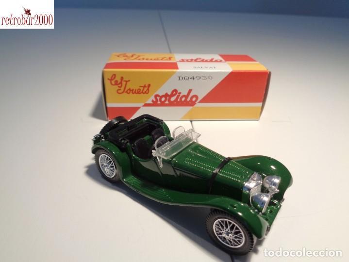 Coches a escala: Jaguar SS100 -1938-. Escala 1:43. Solido / Salvat - Foto 2 - 225757655