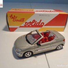 Auto in scala: PEUGEOT 206 CC COUPE. ESCALA 1:43. SOLIDO / SALVAT. Lote 225761412