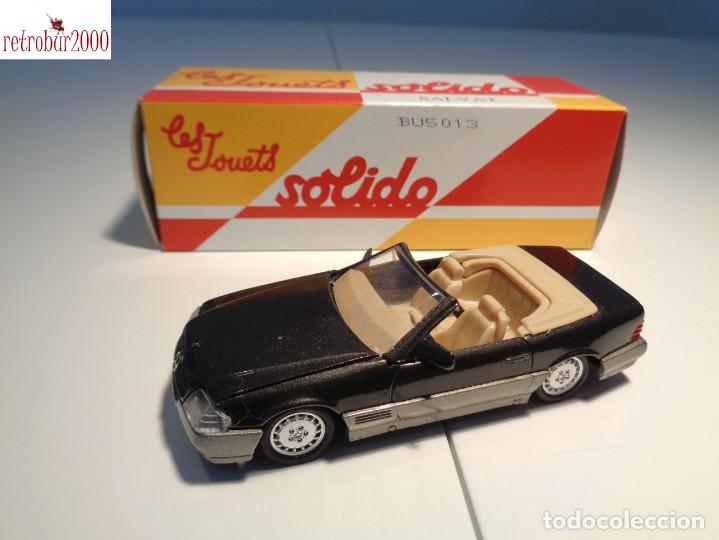 MERCEDES BENZ 500SL. ESCALA 1:43. SOLIDO / SALVAT (Juguetes - Coches a Escala 1:43 Solido)
