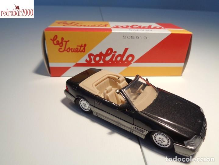 Coches a escala: Mercedes Benz 500SL. Escala 1:43. Solido / Salvat - Foto 2 - 225803510