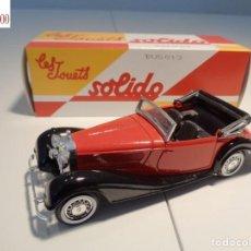 Auto in scala: MERCEDES BENZ 540K -1938-. ESCALA 1:43. SOLIDO / SALVAT. Lote 225804647