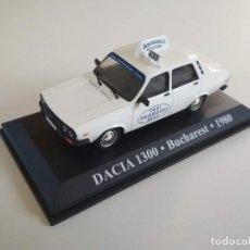 Coches a escala: DACIA 1300. BUCHAREST / BUCAREST 1980. TAXIS DEL MUNDO. ALTAYA 1:43. Lote 226234937