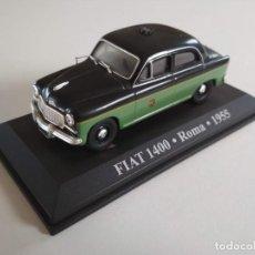 Coches a escala: FIAT 1400. ROMA 1955. TAXIS DEL MUNDO. ALTAYA 1:43. Lote 226235680