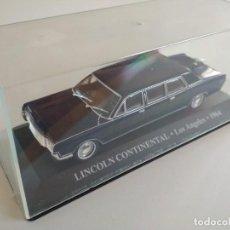 Coches a escala: LINCOLN CONTINENTAL. LOS ANGELES 1964. TAXIS DEL MUNDO. ALTAYA 1:43. Lote 226268817