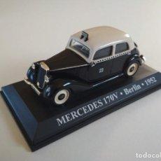 Coches a escala: MERCEDES 170V. BERLIN 1952. TAXIS DEL MUNDO. ALTAYA 1:43. Lote 226270293