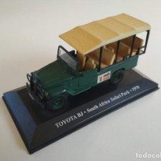 Carros em escala: TOYOTA BJ. SOUTH AFRICA / SUDAFRICA SAFARI PARK 1970. TAXIS DEL MUNDO. ALTAYA 1:43. Lote 226273235