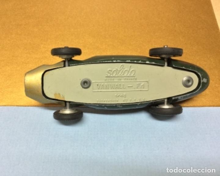 Coches a escala: Vanwall F-1, metal, esc. 1/43, Solido, original años 50. - Foto 10 - 226913575