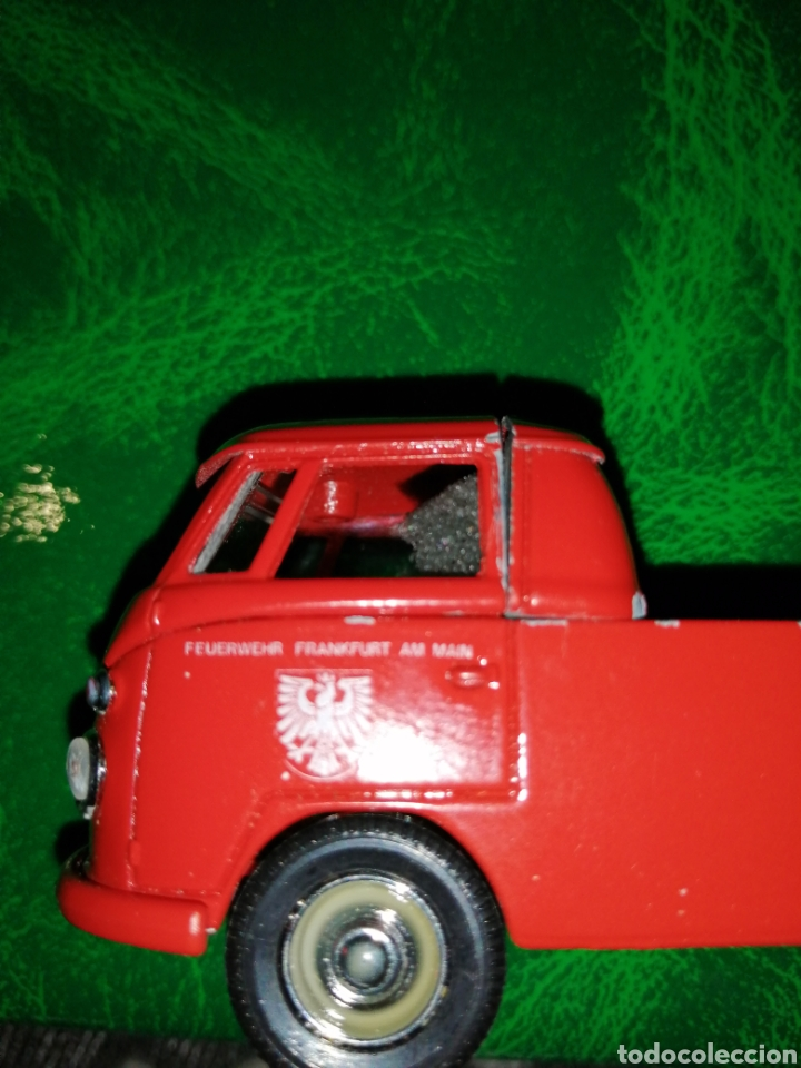 Coches a escala: SÓLIDO VW COMBI ESCALA 1/43,FEUERWEHR FRANKFURT AM MAIN - Foto 6 - 234595935