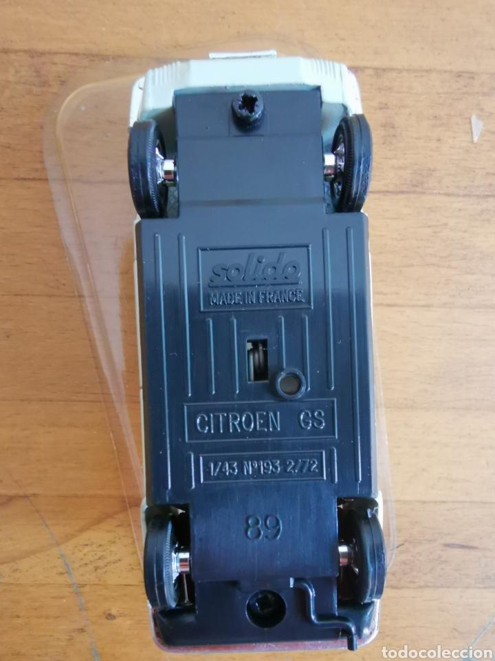 Coches a escala: Coche escala 1/43 de Solido Citroen GS nº183, nuevo en su blíster. - Foto 3 - 234937085