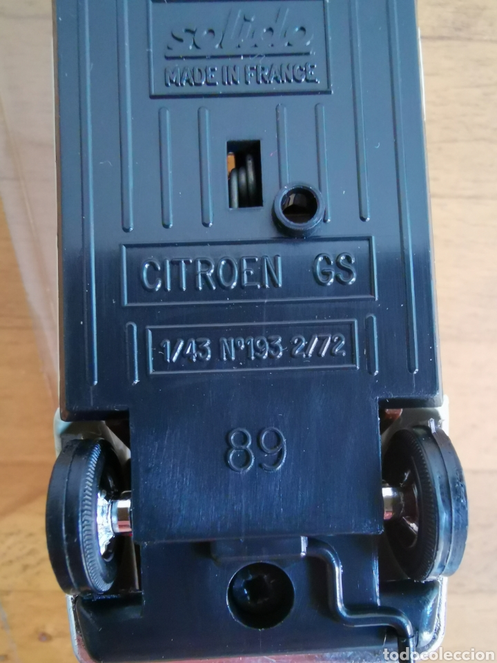 Coches a escala: Coche escala 1/43 de Solido Citroen GS nº183, nuevo en su blíster. - Foto 4 - 234937085
