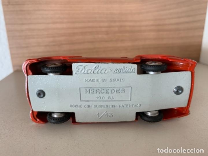 Coches a escala: DALIA SOLIDO MERCEDES BENZ 190 SL ESCALA 1/43 MADE IN SPAIN - Foto 9 - 235343815