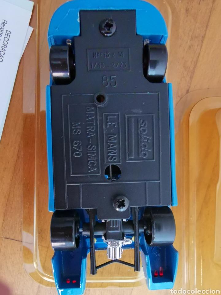 Coches a escala: Coche 1/43 Matra Simca 670 de Sólido. Nº13 y 14. Nº85 - Foto 3 - 235841570