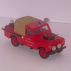 Coches a escala: SOLIDO LAND ROVER 109 SERVICE DEPARTEMENTAL D'INCENDIE 1/43. Lote 242980360