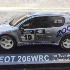 Coches a escala: MINIATURA PEUGEOT 206 WRC. Lote 244799880