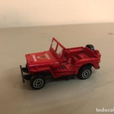 Coches a escala: COCHE A ESCALA 1/43 JEEP WILLYS N 1322 , SOLIDO MADE IN FRANCE. Lote 245021245
