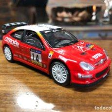 Voitures à l'échelle: CITROËN XSARA WRC - COCHES INOLVIDABLES SALVAT + FASCICULO 67- SOLIDO. Lote 249528240