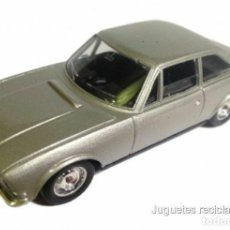 Coches a escala: PEUGEOT 504 COUPE V6 1:43 SOLIDO DIECAST BLISTER MADE IN FRANCE. Lote 257636210