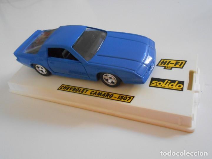5003 COCHE CHEVROLET CAMARO 1507 SOLIDO MODEL CAR 1/43 1:43 MINIATURE ALFREEDOM (Juguetes - Coches a Escala 1:43 Solido)