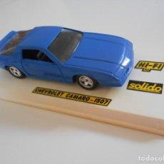 Coches a escala: 5003 COCHE CHEVROLET CAMARO 1507 SOLIDO MODEL CAR 1/43 1:43 MINIATURE ALFREEDOM. Lote 262571630