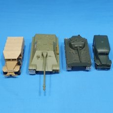 Auto in scala: LOTE DE TANQUES Y CAMIONES MILITARES - SOLIDO MADE IN FRANCE. Lote 266684468