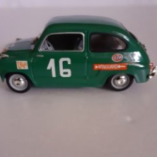 Voitures à l'échelle: SOLIDO SEAT 600 1961 RALLY. Lote 285698003