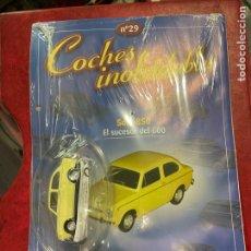 Coches a escala: COCHES INOLVIDABLES SEAT 850 SALVAT NÚMERO 29. Lote 287924668