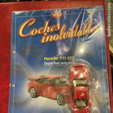 Coches a escala: COCHES INOLVIDABLES PORSCHE 911 GT2 SALVAT NÚMERO 63. Lote 287926628