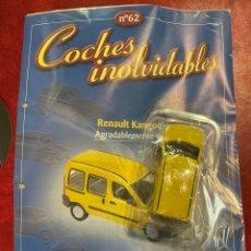 Coches a escala: COCHES INOLVIDABLES RENAULT KANGOO SALVAT NÚMERO 62. Lote 287939353