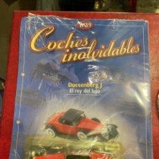 Coches a escala: COCHES INOLVIDABLES DUESENBERG J SALVAT. Lote 288147843