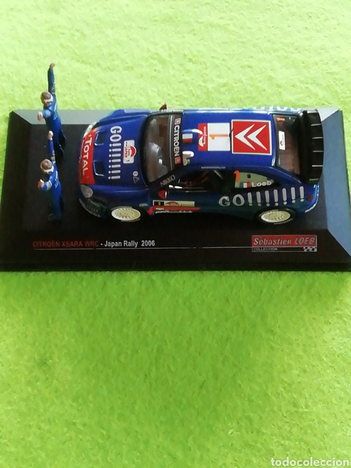 Coches a escala: Rally Japan 2006. Sebastián Loeb. Citroen xsara wrc. A escala. 1;43 .no puede faltar en tu colección - Foto 2 - 289329678