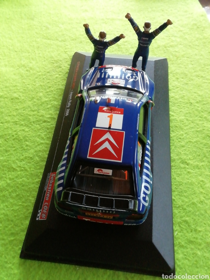 Coches a escala: Rally Japan 2006. Sebastián Loeb. Citroen xsara wrc. A escala. 1;43 .no puede faltar en tu colección - Foto 4 - 289329678