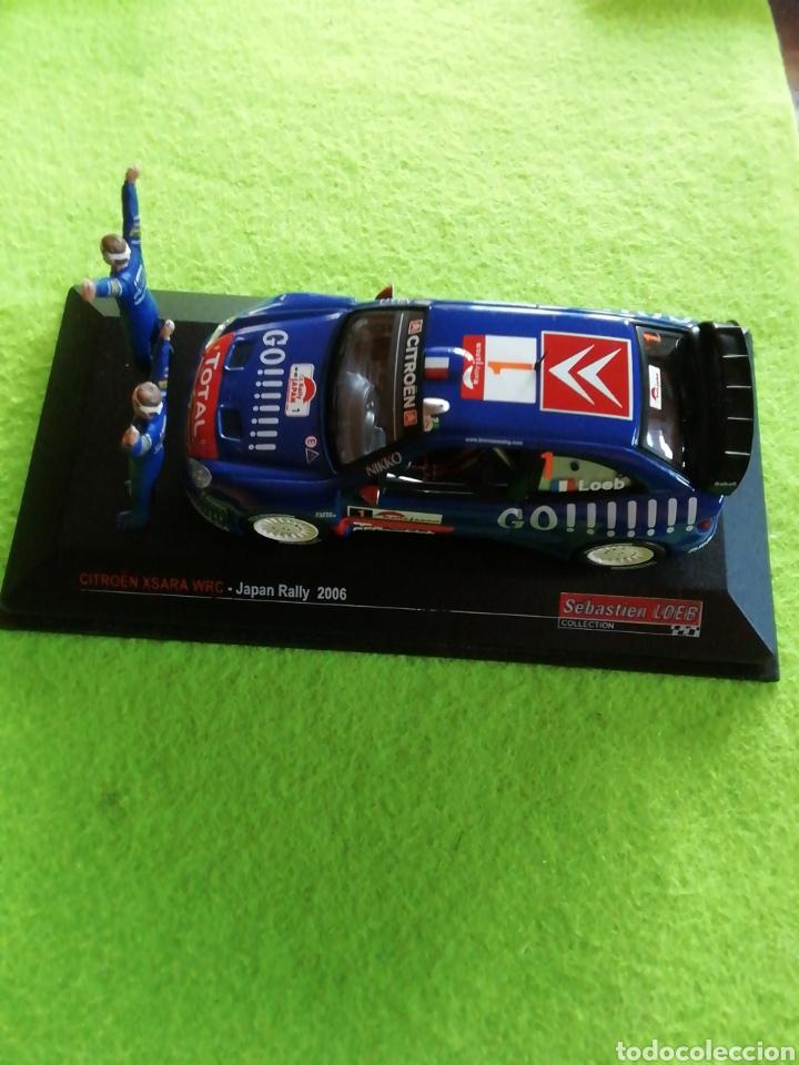 Coches a escala: Rally Japan 2006. Sebastián Loeb. Citroen xsara wrc. A escala. 1;43 .no puede faltar en tu colección - Foto 5 - 289329678