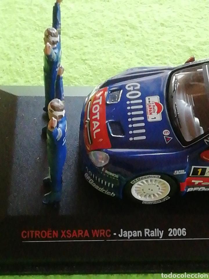 Coches a escala: Rally Japan 2006. Sebastián Loeb. Citroen xsara wrc. A escala. 1;43 .no puede faltar en tu colección - Foto 6 - 289329678