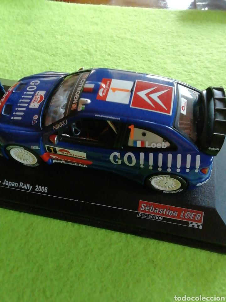 Coches a escala: Rally Japan 2006. Sebastián Loeb. Citroen xsara wrc. A escala. 1;43 .no puede faltar en tu colección - Foto 7 - 289329678