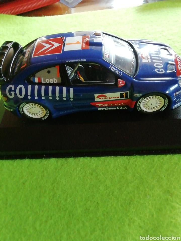 Coches a escala: Rally Japan 2006. Sebastián Loeb. Citroen xsara wrc. A escala. 1;43 .no puede faltar en tu colección - Foto 8 - 289329678