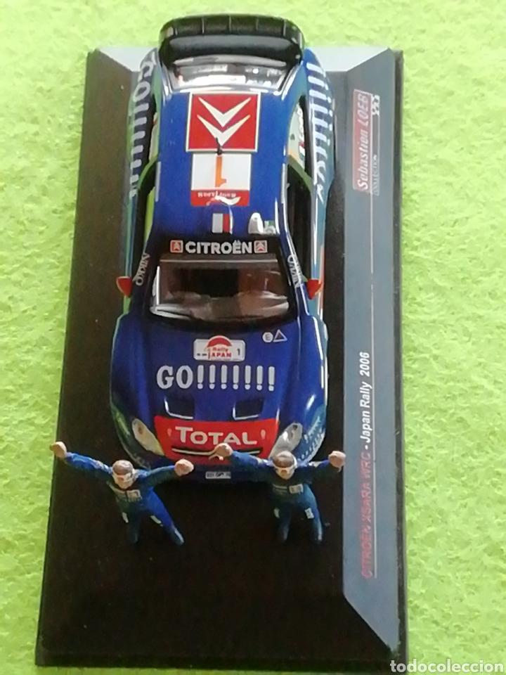 RALLY JAPAN 2006. SEBASTIÁN LOEB. CITROEN XSARA WRC. A ESCALA. 1;43 .NO PUEDE FALTAR EN TU COLECCIÓN (Juguetes - Coches a Escala 1:43 Solido)