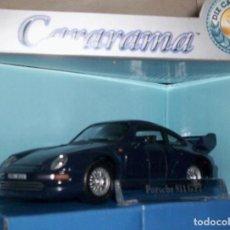 Coches a escala: PORSCHE 911 GT2 ESCALA 1.43 DE METAL DE CARARAMA ABREPUERTAS ORIGINAL. Lote 289849523