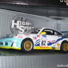 Coches a escala: PORSCHE 911 GT3R ESCALA 1.43 DE METAL DE HIGH SPEED ORIGINAL BONITO. Lote 289851303