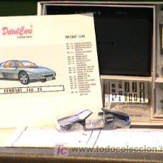 Coches a escala: DETAILS CAR KIT FERRARI 348 TS AZUL 1/43 MAGIC CAR. Lote 27408263