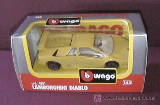 A Coche Bburago Lamborghini Diablo Escala 1 4 Buy Model Cars At