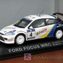 Coches a escala: FORD FOCUS WRC DE M. MARTIN EN EL RALLY ACROPOLIS 2003 IXO - ALTAYA. Lote 26922720