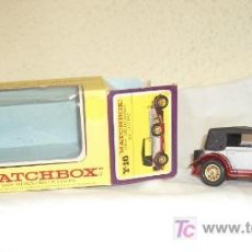 Coches a escala: 1928 MERCEDES SS COUPÉ,MATCHBOX,YESTERYEAR,CAJA ORIGINAL. Lote 20612422