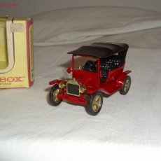 Coches a escala: MATCHBOX,YESTERYEAR,1911 MODEL T FORD,AÑO 1964,CAJA ORIGINAL. Lote 24033902