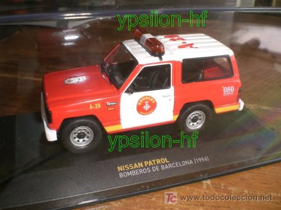 Nissan Patrol Barcelona bomberos 1:43 Ixo Altaya Diecast