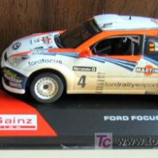 Coches a escala: FORD FOCUS WRC - 2002 - RAC RALLY.- CARLOS SAINZ COLLECTION.. Lote 45247563